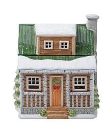 Winter Forest 3D Cookie Jar Lodge