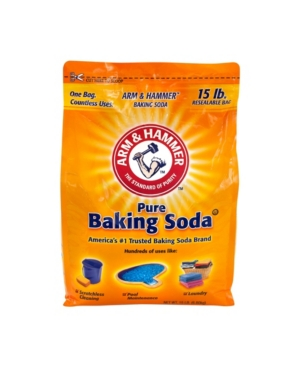 For more than 165 years, people have chosen pure, versatile, effective, safe and affordable arm hammer baking soda. Perfect for baking, cleaning, laundry and pools. It has the power to scrub away stains and grease without leaving any scratches.