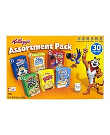 Cereal Assortment Pack, 30 Count
