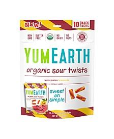 Organic Sour Twists, 7 oz, 3 Pack