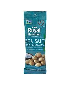 Sea Salt Macadamias, 1 oz, 12 Count