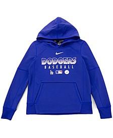 Youth Los Angeles Dodgers Therma Fleece Hoodie