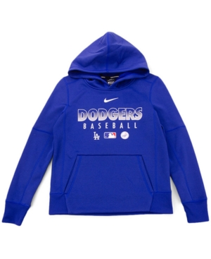 Nike Youth Los Angeles Dodgers Therma Fleece Hoodie