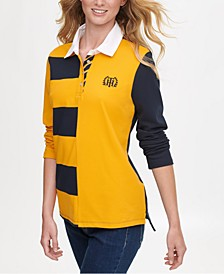 Rugby-Stripe Polo Shirt, Created for Macy's