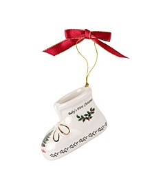 2020 Annual Baby Bootie Ornament