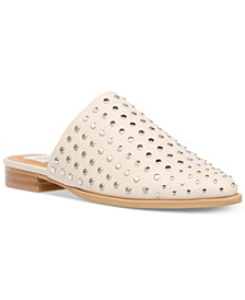 Ismenia Studded Slip-On Mules