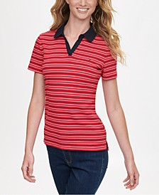 Cotton Striped Polo Shirt, Created for Macy's