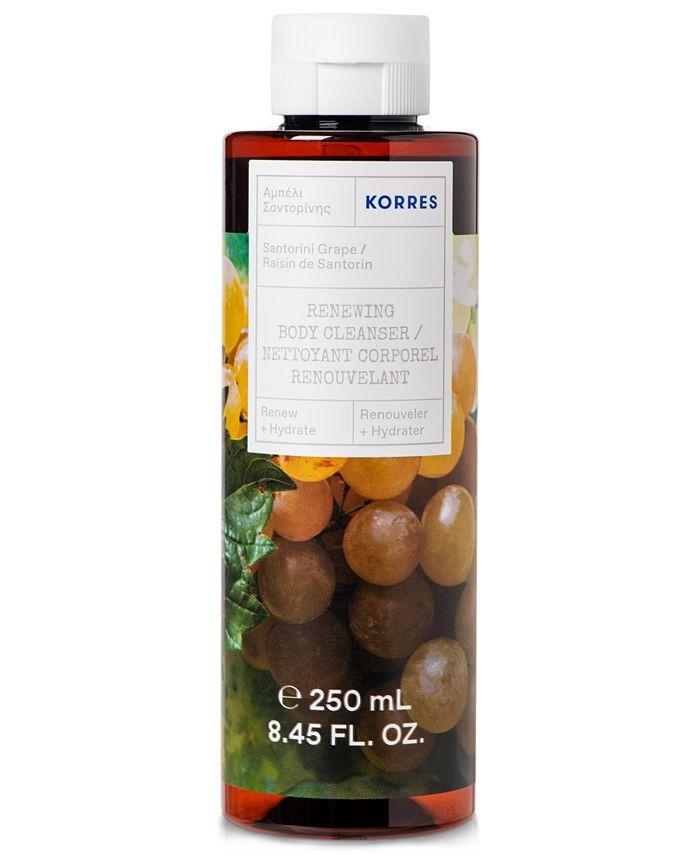 KORRES - Korres Santorini Grape Renewing Body Cleanser, 8.45-oz.