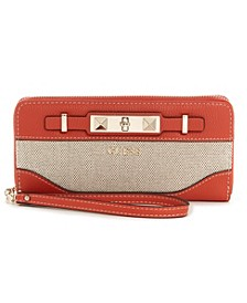 Raffie Zip Around Wallet