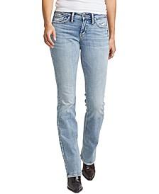 Suki Curvy-Fit Slim Bootcut Jeans