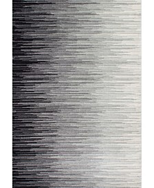 Lexie RZBD15A Black 4' x 6' Area Rug
