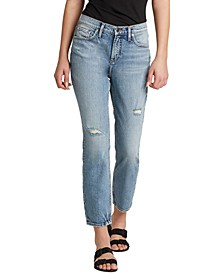 Distressed Not Your Boyfriend's Jeans