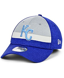 Kansas City Royals Striped Shadow Tech 39THIRTY Cap