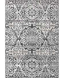 Bellamy RZSP03B Gray 4' x 6' Area Rug