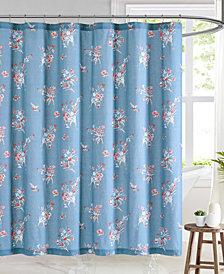 """Brooklyn Loom Paulina Shower Curtain, 72"""" W x 72"""" L"""