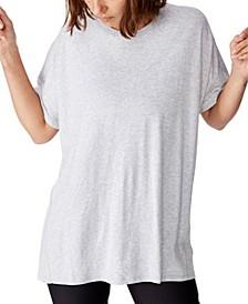 Longline Tie Back T-shirt
