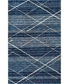 Vito HJKZ07A Blue 6' x 9' Area Rug