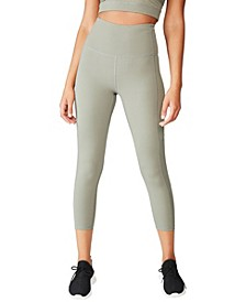 Workout Rib Mesh 7/8 Tights