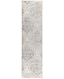 Banes 702 Cream 2' x 7' Runner Area Rug