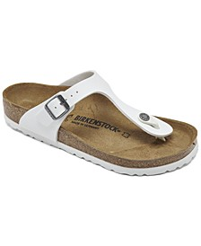 Women's Gizeh Birko-Flor Nubuck Sandals from Finish Line