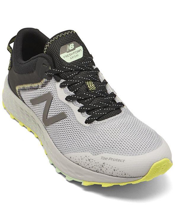 New Balance Women's Fresh Foam Arishi Trail Running Sneakers from Finish Line