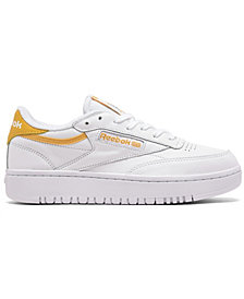 Reebok Women's Club C Double Casual Sneakers from Finish Line