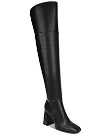 Women's Pamela Block-Heel Over-The-Knee Boots