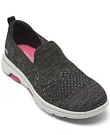 Women's GOwalk 5 - Mirage Slip-On Walking Sneakers from Finish Line
