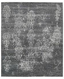 """Silk Shadows SHA14 Charcoal 7'9"""" x 9'9"""" Area Rug"""
