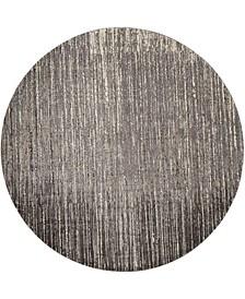 Twilight TWI14 Gray 8' Round Rug