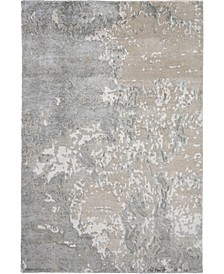 "Silk Shadows SHA17 Sand 3'9"" x 5'9"" Area Rug"