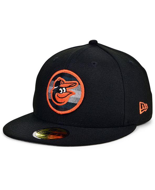New Era Baltimore Orioles Circle Fade 59FIFTY Cap