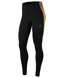 Nike Women's One Dri-FIT Colorblocked Leggings