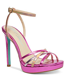 Blue by Betsey Johnson Avah Evening Shoes