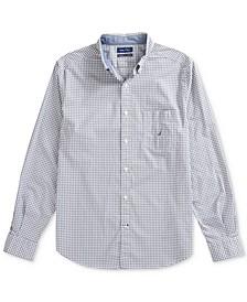 Men's Gingham Poplin Shirt