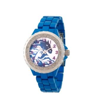 Disney Frozen 2 Elsa Women's Enamel Sparkle Blue Alloy Watch 41mm