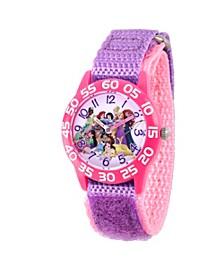 Disney Princess Cinderella, Ariel Girls' Pink Plastic Watch 32mm