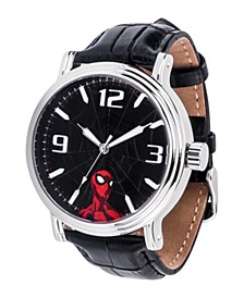 Marvel Spider-Man Men's Silver Alloy Vintage Watch 44mm