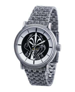 Disney Villains Jafar Men's Antique Silver Vintage Watch 44mm
