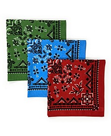 Unisex Bandana Floral, Pack of 3