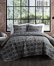 Nina 3 Piece King Quilt Set