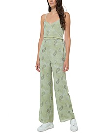 Paisley-Print Jumpsuit, in Regular & Petite