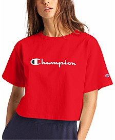 Women's Logo Cropped T-Shirt