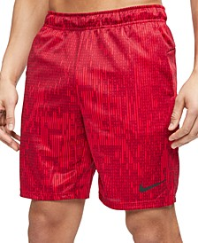 "Men's Dri-FIT Printed Training 9"" Shorts"