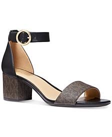 Lena Block Heel Dress Sandals