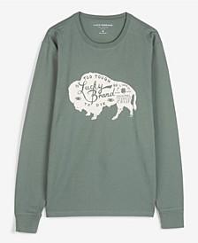 Men's Bison Long Sleeve T-shirt