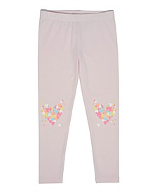 Toddler Girls Heart Knee Legging Pants