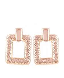 Essential Textured Drop Earring