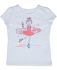 Little Girls Surfer T-shirt
