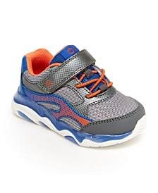 Toddler Boys SR Lighted Swirl Athletic Shoe